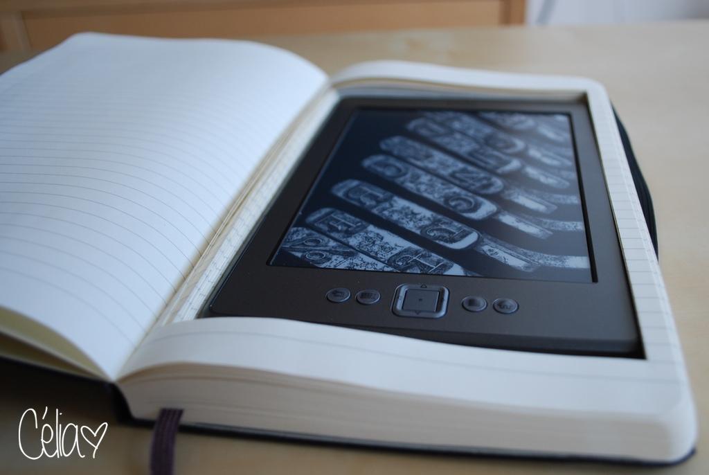 Pochette pour Kindle à partir d'un Moleskine
