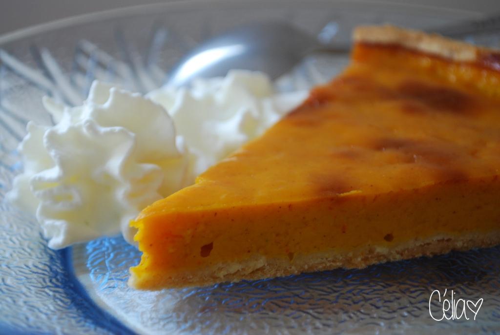 La tarte au potimarron - par Célia