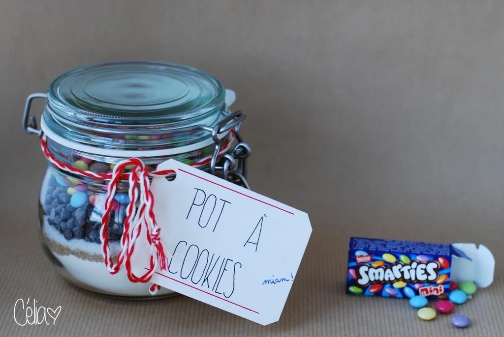 Pot à cookies