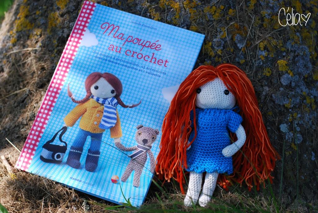 Elwyn - Ma poupée au crochet - Isabelle Kessedijan - Célia zut