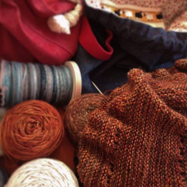 Et voici mon tricot insideoutknits suite  la demande dehellip
