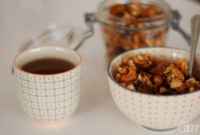 Granola & thé - Céliazut