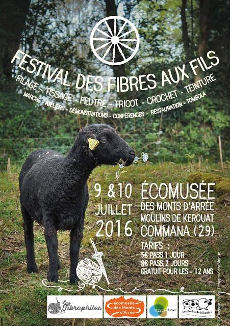 L'affiche du Festival Des Fibres aux Fils