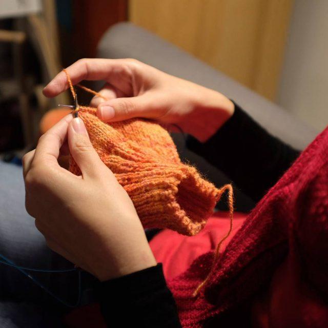 Sunday nigth knitting knit knitflixing x100f celiazutx100f